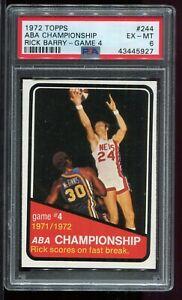 1972-1973-Topps-244-RICK-BARRY-ABA-Championship-Game-4-New-York-Nets-PSA-6-EX-MT