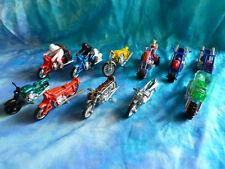 Lot de 13 motos diverses tous états - MATCHBOX, LESNEY, LEGO etc...