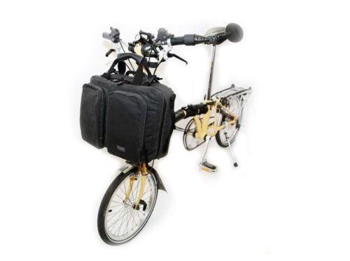 Frame Bicycle Bag Handbag Front Carrier 2Color Fast Ship For Brompton Backpack