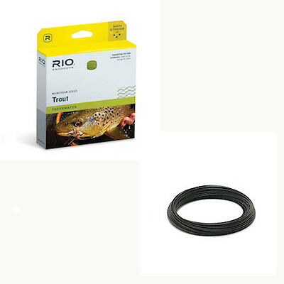 Black RIO Products Fly Line Mainstream Type 6 Full Sinking Line Wf7S6