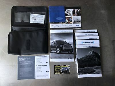 ford  xl owners manual book brochure  case oem