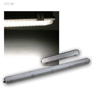 led deckenleuchte wannenleuchte mit hf bewegungsmelder feuchtraumleuchte lampe ebay. Black Bedroom Furniture Sets. Home Design Ideas