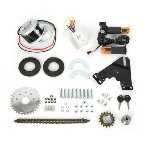 24V 250W Electric Conversion Kit For Common Bike Left Chain Drive Custom DIY