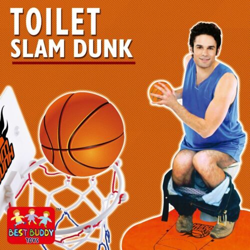 Salle de Bain Toilette Basketball Slam Dunk Fun Potty Time jeu