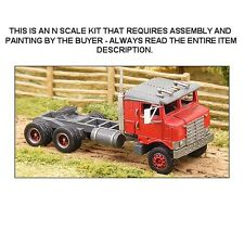 """1953 KW """"BULL NOSE"""" CAB-OVER KIT - N SCALE KIT - GHQ 56004"""