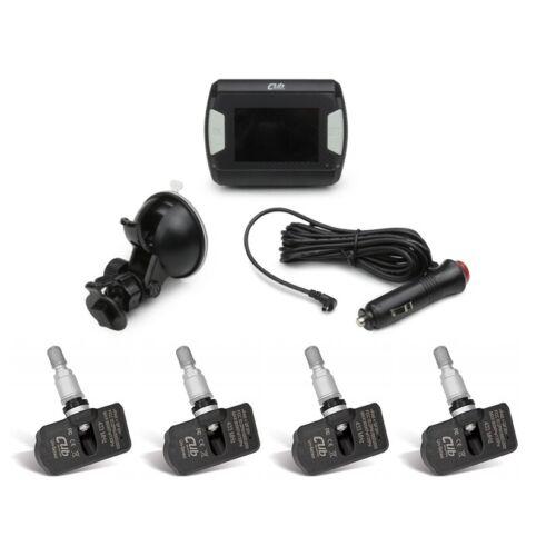 TEGIWA X CUB la presión del neumático sistema de monitoreo y Temperatura Kit de Sensor Motorsport TPMS 4