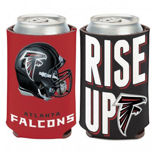 cd5cf2e6 Atlanta Falcons Rise up NFL Can Cooler Koozie Coozie Drink Holder