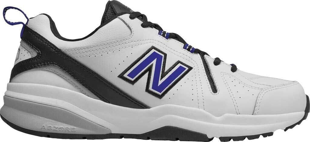 e01e33d4dd New 608v5 Trainer (Men's shoes) in White Team Royal - NEW Balance  nfyzzu2341-Athletic Shoes