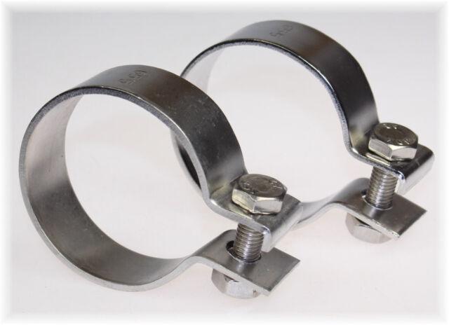 5 x Auspuffschelle Montageschelle Breitbandschelle Clamp VAG Ø 64,5 mm