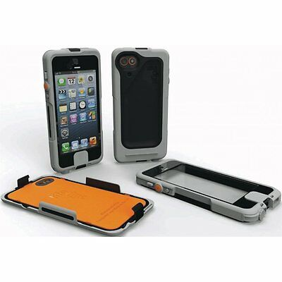 SCANTRUST Waterproof Case Shock Protective Cover for iPhone 5 Grey