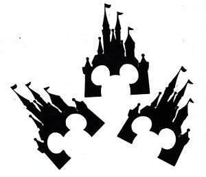 Details about Castle Princess disney mickey paper cut outs cutouts die cuts  shapes