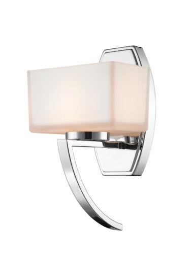 Z-Lite 614-1SCH Cardine 1 Light Chrome Wall Sconce Wall Light
