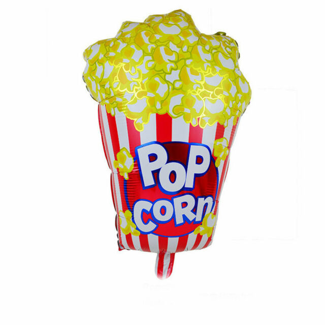 Popcorn balloon baby birthday party decors decorative inflatable Birthday Pip US