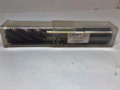 """Cyclo-Cut P//N CCT-7040-054 End Mill 1.5/"""" HSS Ripper"""