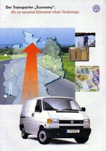 05//99 VW Bus t4-Prospekt-Transporter Economy
