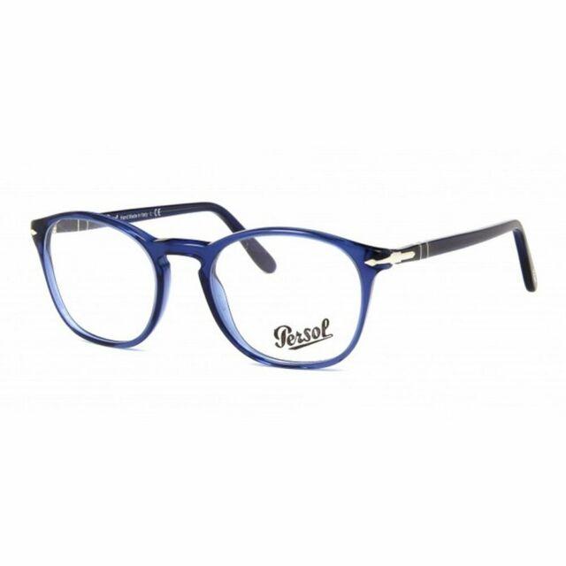 design senza tempo 2fbc1 a4409 Persol 3007-v Col.1015 Cal.50 Occhiali da Vista-eyeglasses-lunettes