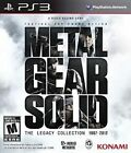 Ps3 Metal Gear Solid The Legacy Collection Total 10 MGS Games US R1