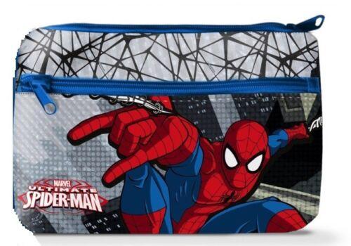 Disney Spiderman XXL Schul-Etui Federmappe Federmäppchen Schule mit 2 Fächern