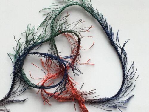 Hilo Pestañas 50 gramos 92 metros Dark Horse Hilos encantadora Lash #106 Roja Verde Azul