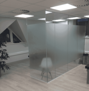 Image Is Loading Glass Divider Office Divider Glass Panels Glass Partitions