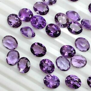 NATURAL-PURPLE-AMETHYST-4X5-MM-OVAL-CUT-FACETED-LOOSE-AAA-GEMSTONE-LOT