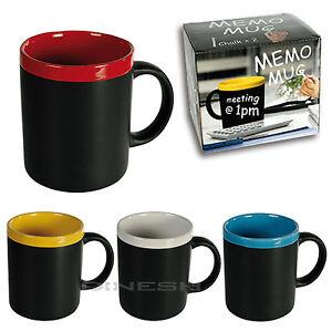 928 keramik becher tasse tafel kreide zum beschriften kaffetasse kaffebecher ebay. Black Bedroom Furniture Sets. Home Design Ideas