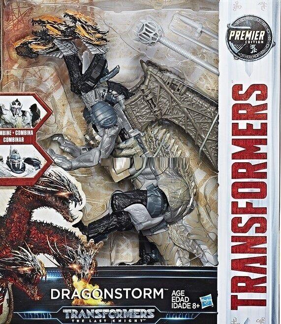HASBRO Transformers MV5 le dernier  chevalier Leader Class Dragonstorm Figure  vente en ligne