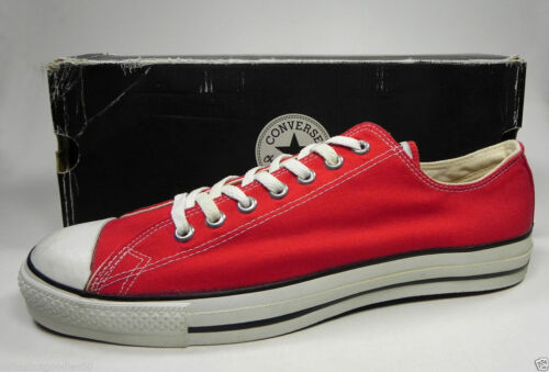 Converse Shoes Men/'s All Star Lo Ox Red MADE IN USA Sneakers M9696 #2132