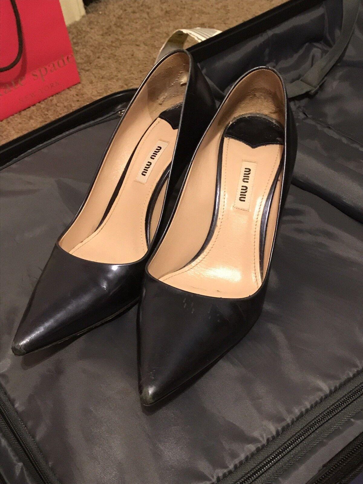 Miu Miu Heels, Midnight color, Size 39
