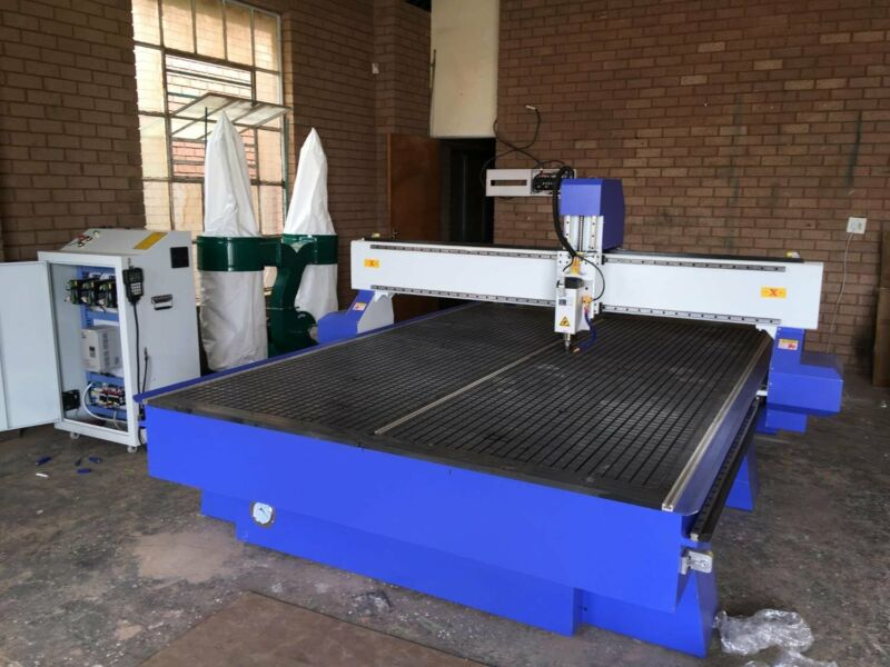 woodworking routers 2m 3m by 6kw aircooled 380volt selfclamb table