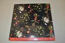 MARY DELANY HOLLY WITH BERRIES  LUXURY CHRISTMAS WRAPPING PAPER-20 SHEETS