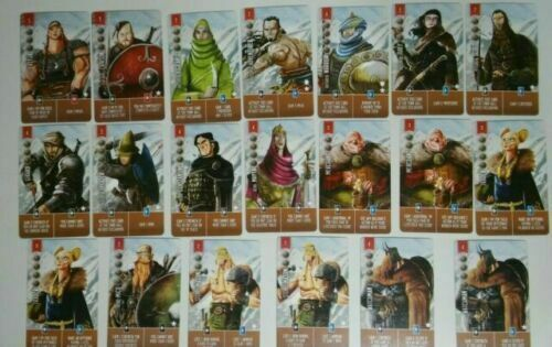 Raiders of the North Sea Promo Cards Mini Expansions
