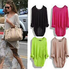 Women Long Sleeve Oversized Loose Knitted Sweater Jumper Cardigan Outwear Tops