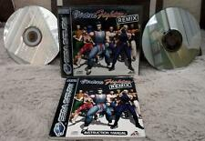 Sega Saturn VIRTUA FIGHTER REMIX  POTRAIT  BOXED Game  Vintage PAL