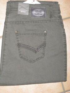 BRAX Jeans Stretchjeans Carola Glamour grau//beige Herbst//Winterqualität  Neu