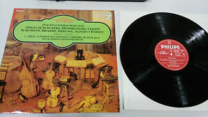 SCHUBERT-CHOPIN-MENDELSSOHN-BRAHMS-DEBUSSY-LP-VINYL-VG-VG-SPANISH-ED-LONDON
