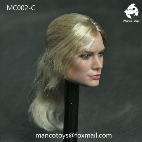 Mancotoys 1//6 Captain Marvel Head Sculpt MC002 Model F 12/'/' Female Body Solider