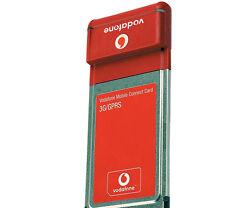 Vodafone Option 3G Datacard UMTS PCMCIA Karte Card kein SIM NET Lock - gebraucht