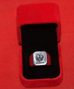 Ruger-Stainless-Steel-Ring-with-Display-Box-Size-12