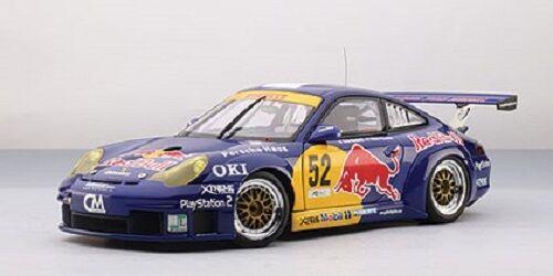 Autoart 80473 1 18 PORSCHE 911 (996) gt3 RSR MONZA 2004  rosso Bull   52
