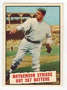 Christy-Mathewson-Baseball-Thrills-Topps-408-1961-8-5-NM-MT