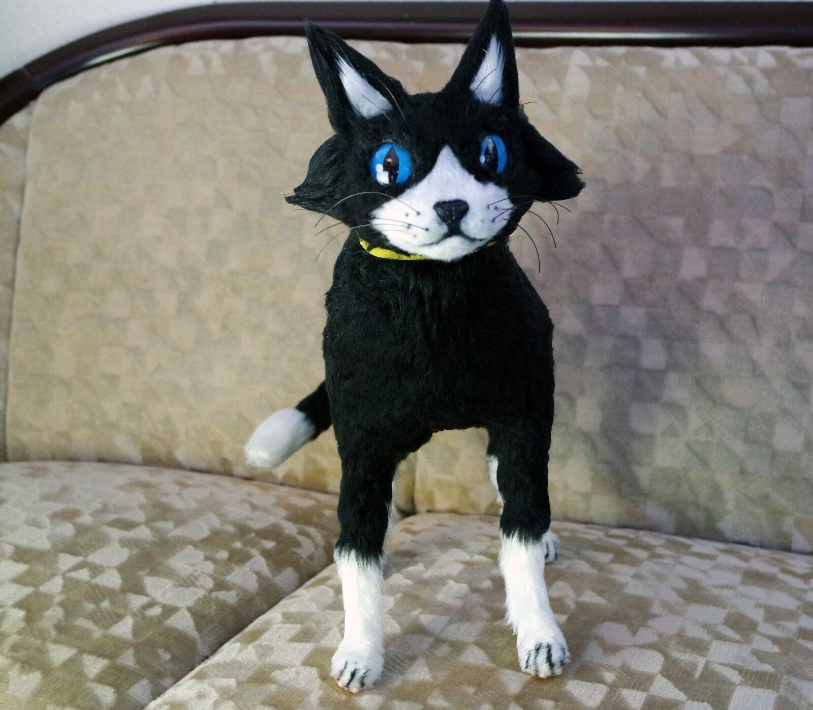 Morgana persona 5 Cat forma gato tipo Doll muñeca Plush peluche cosplay personaje