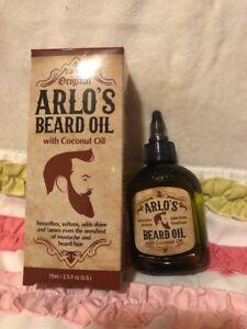 Arlo's Beard Mustache Oil with Coconut Oil 75ml | eBay