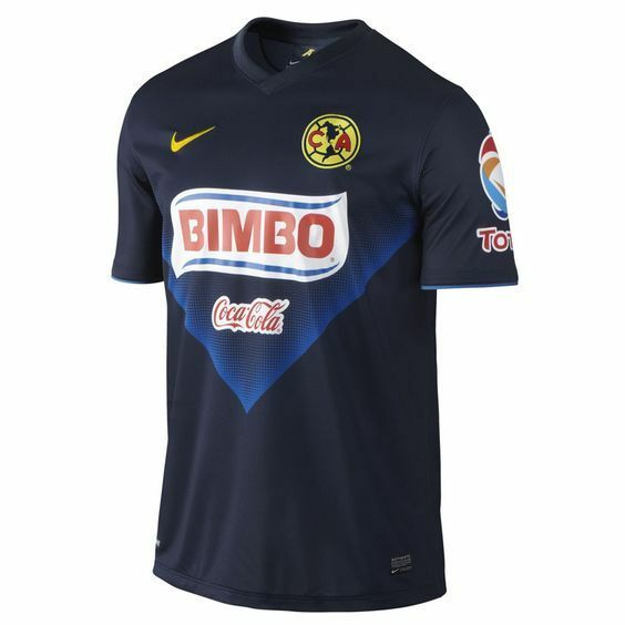 super popular 86582 5ab06 NIKE CLUB AMERICA AGUILAS AWAY 2013/2014 JERSEY