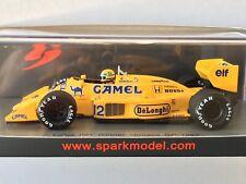 LOTUS 99T N°12 Vainqueur GP Monaco 1987  Ayrton Senna 1//43 Spark S7131