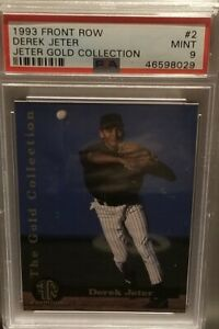 DEREK-JETER-YANKEES-ROOKIE-1993-FRONT-ROW-GOLD-COLLECTION-PSA-9-MINT-NJC