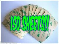 150 Sheets 3m Double Sided Adhesive Big Shot Cuttlebug Craft Dies No More Glue