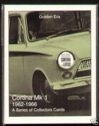 1962-66 Card Set FORD CORTINA MK1 Lotus GT Crayford