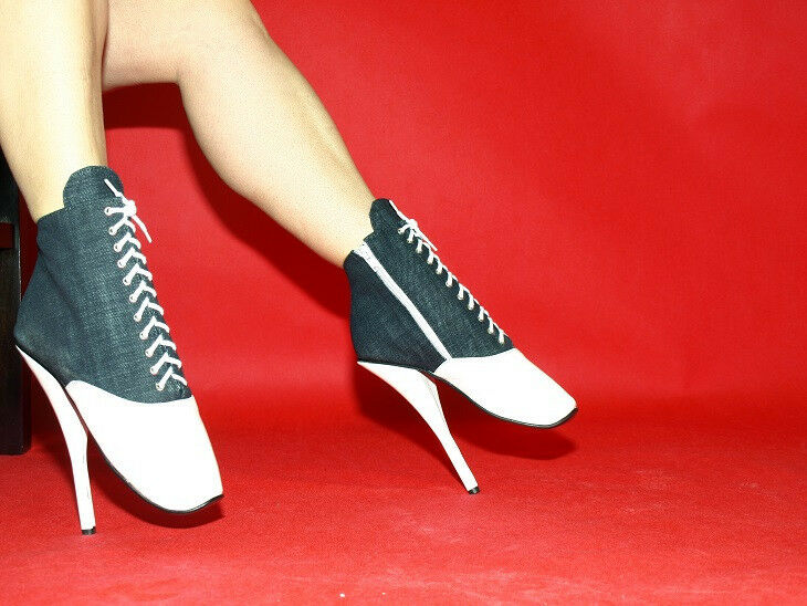 High heels, ballet boots  jeans  producer Poland -heels 20cm SIZE 37-47  FS1243