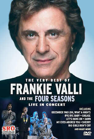 The Very Best Of Frankie Valli And The Four Seasons - Live In Concert, Good DVD, - $6.74